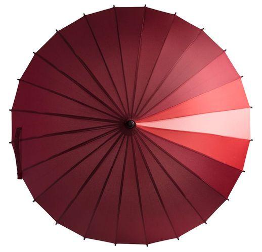 Зонт-трость «Спектр», красный