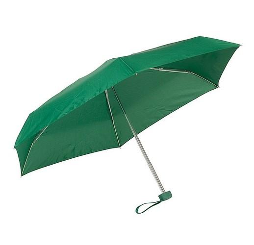 Алюминиевый мини-карманный зонтик  (зеленый)