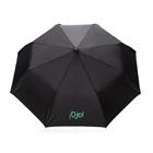 """Складной зонт-полуавтомат Deluxe 21"""", черный"""