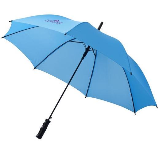 Автоматический зонт трость (светло-синий)