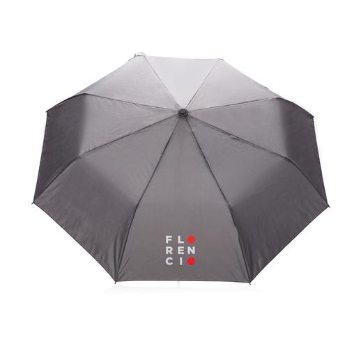 "Складной зонт зонт-полуавтомат  Deluxe 21"", серый"