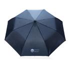 """Складной зонт-полуавтомат  Deluxe 21"""", синий"""