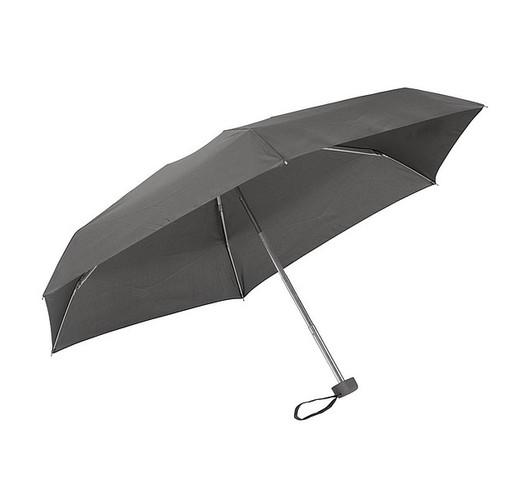 Алюминиевый мини-карманный зонтик  (серый)