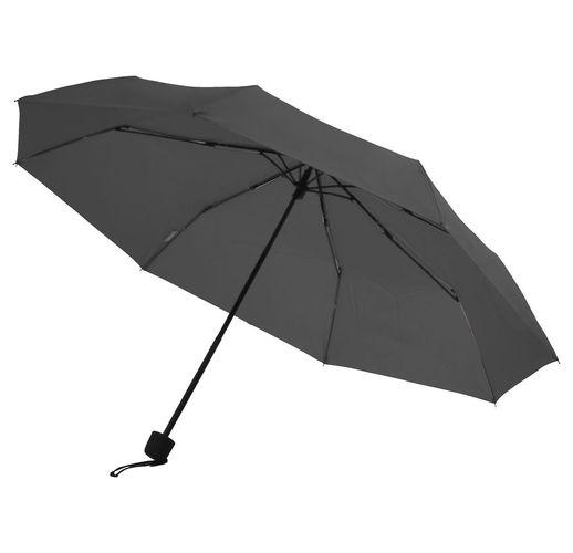 Зонт складной Mini Hit Dry-Set, серый