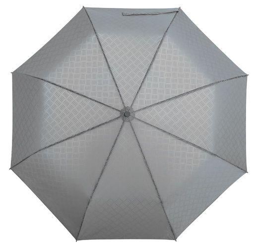 Зонт складной Hard Work, серый